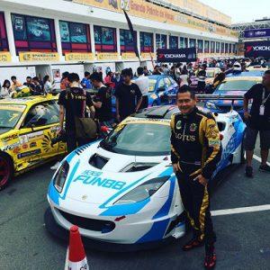 fun788 สนันสนุน การแข่งรถ